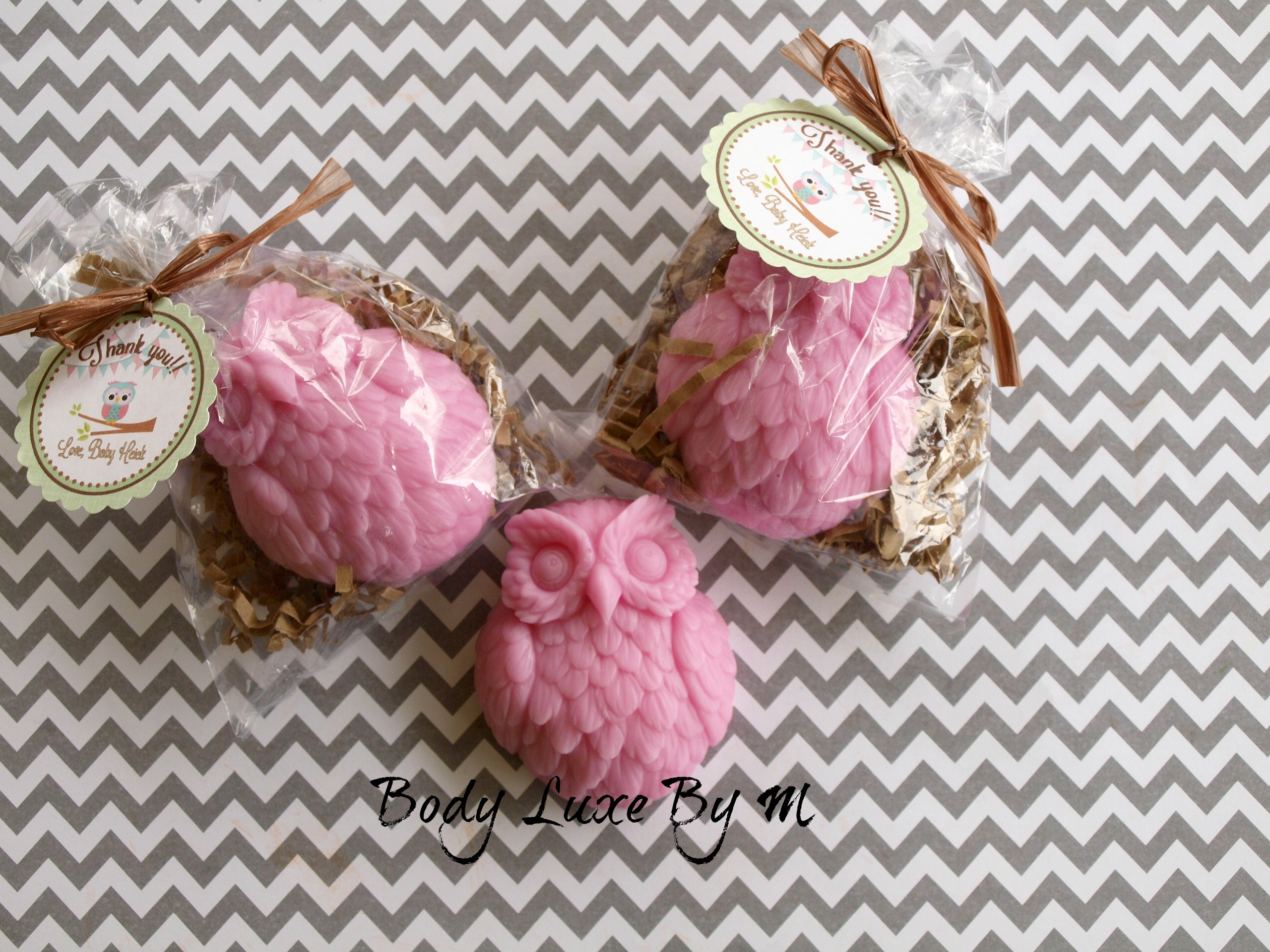 10 Owl Soap Favors With Personalized Tag Baby Shower Favor Birthday ...
